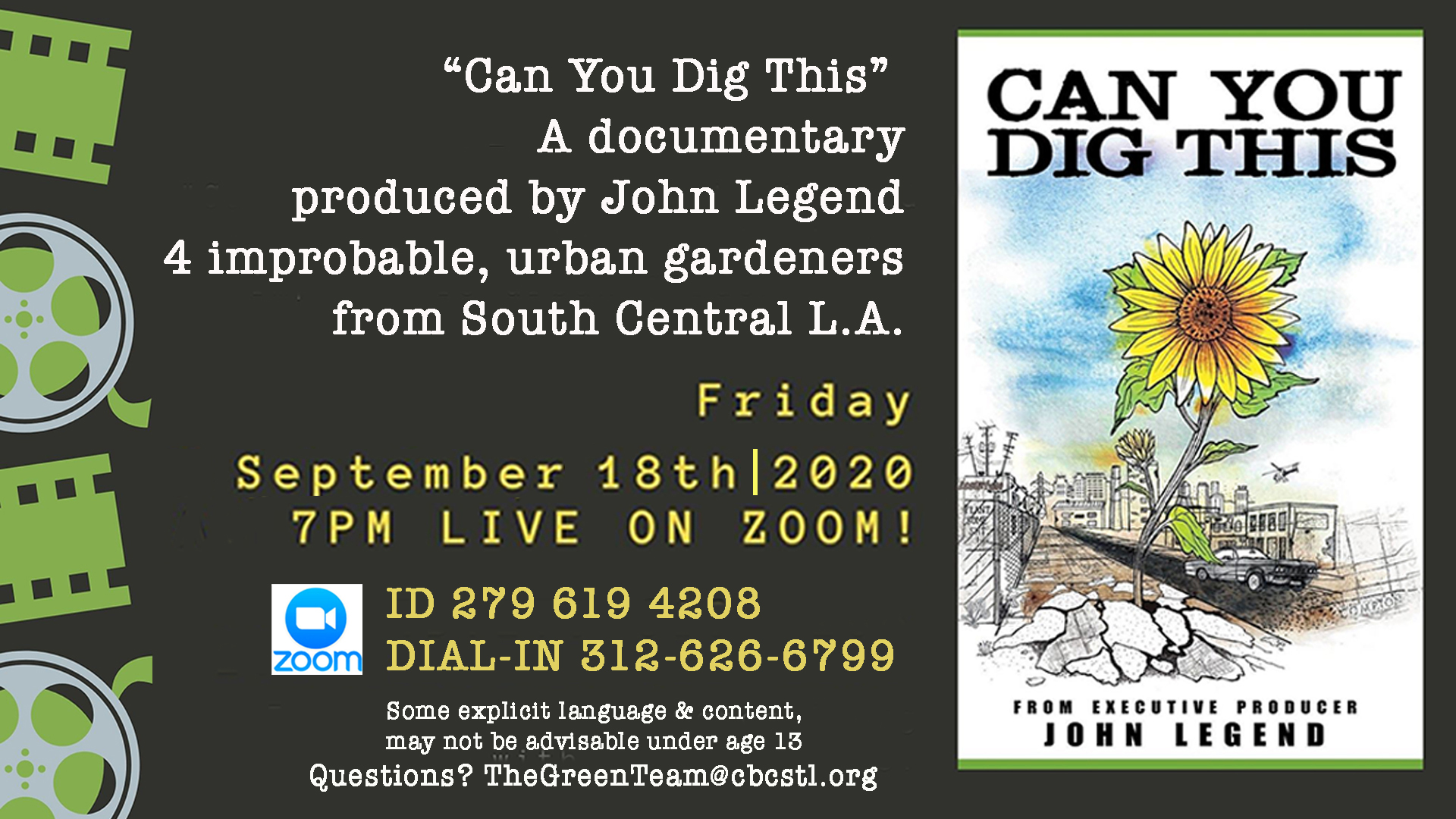 Can You Dig This Screening FullSlide