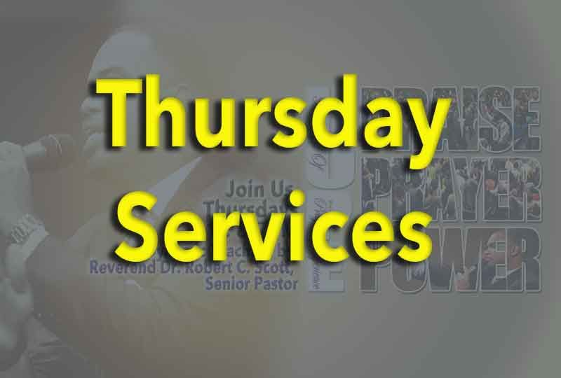 Thursday Services